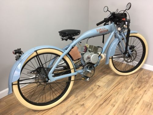 1910 Harley-Davidson Tribute Blue Pearl photo
