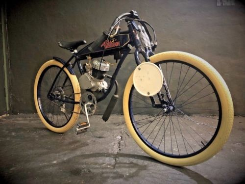 1914 Harley-Davidson BOARD TRACK RACER MIDNIGHT BLUE photo