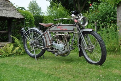 1914 Harley-Davidson Two speed twin model 10F Gray for sale craigslist
