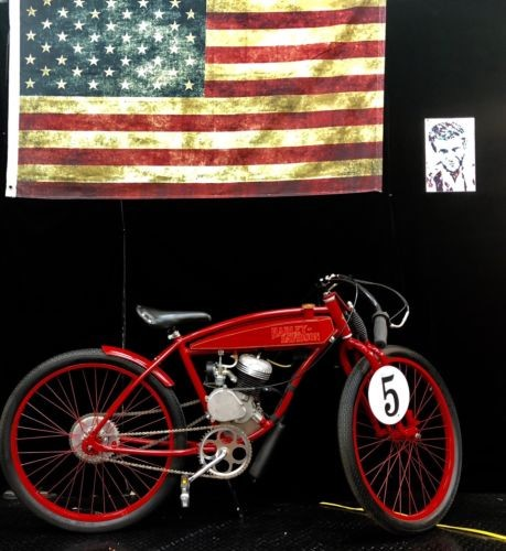 1915 Harley-Davidson HARLEY DAVIDSON BOARD TRACK RACER VINTAGE FIRE ENGINE RED for sale