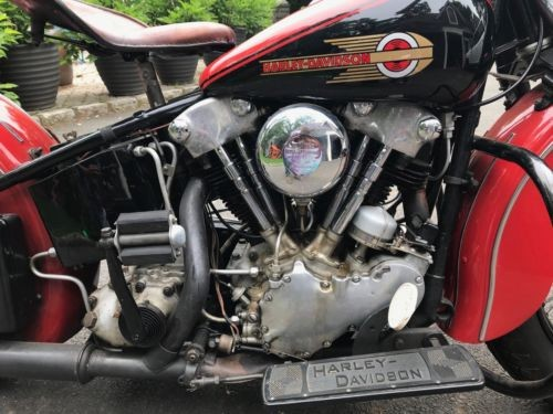 1939 Harley-Davidson Other Red for sale