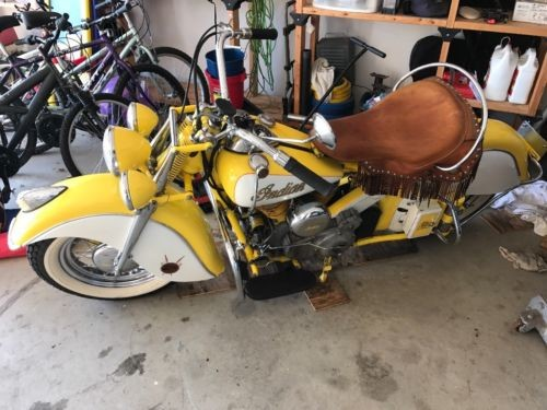 1946 Indian Chief Yellow photo