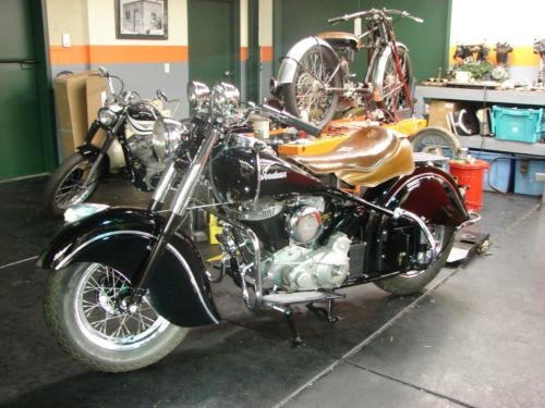 1950 Indian Big Chief Black for sale