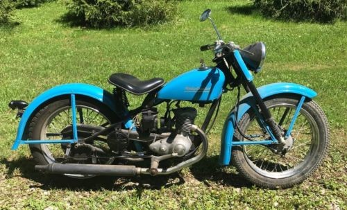 1951 Harley-Davidson 125cc Blue for sale craigslist