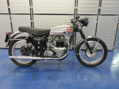 1955 BSA GOLD STAR Silver photo