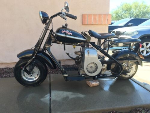 1955 Cushman barrel spring Black for sale