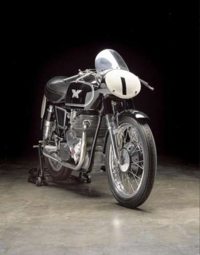 1955 Norton Matchless G45 Black photo