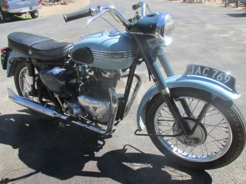 1955 Triumph 6T Thunderbird Black photo