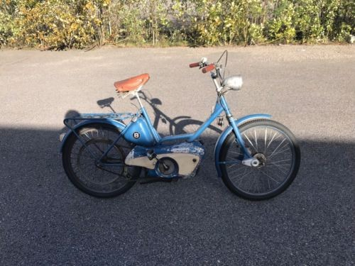 1956 Husqvarna NOVOLETTE Blue photo