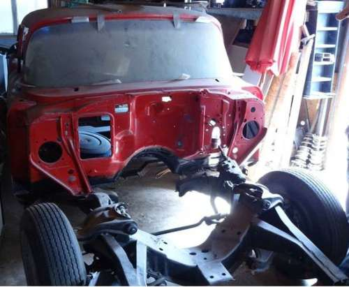 1957 American Classic Motors CHEVY Red for sale craigslist