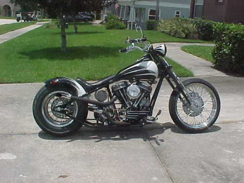 1957 Harley-Davidson Panhead custom Black for sale craigslist