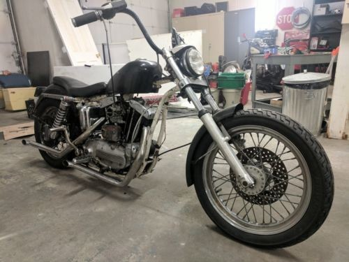 1959 Harley-Davidson Sportster Black photo