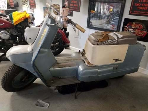1960 Harley-Davidson Other blue and white craigslist