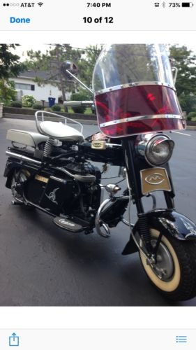 1961 Cushman Eagle Black for sale craigslist
