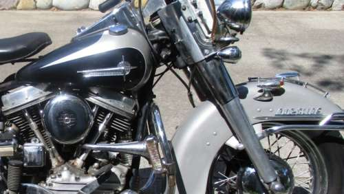 1961 Harley-Davidson FL Black for sale craigslist