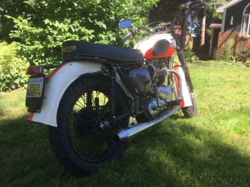 1962 Triumph Bonneville  photo