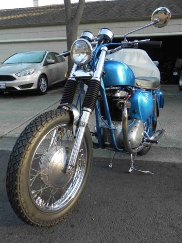 1964 BSA 650 Rocket A65R Blue for sale