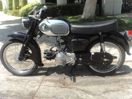 1964 Honda 90 Black photo
