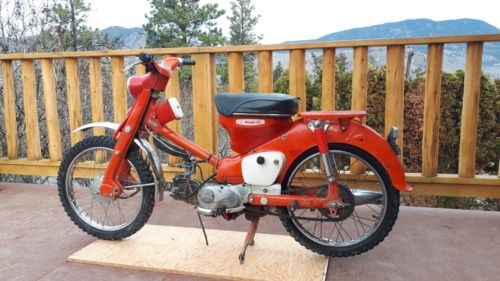 1964 Honda CT Red for sale craigslist