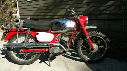 1964 Suzuki K15 Red photo