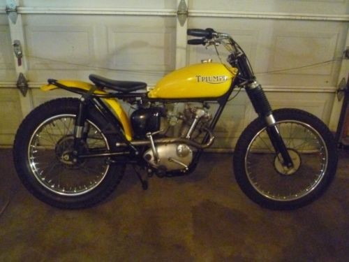 1964 Triumph Tiger cub Yellow photo