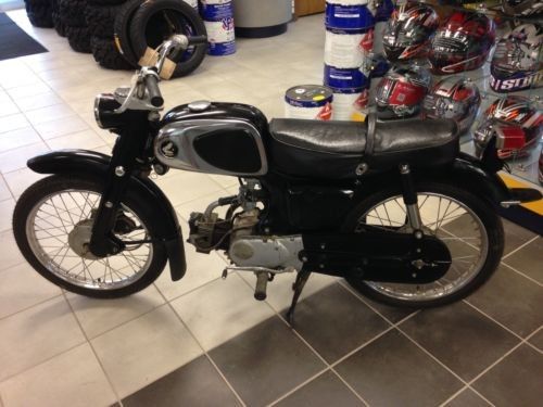 1965 Honda C110 Black for sale