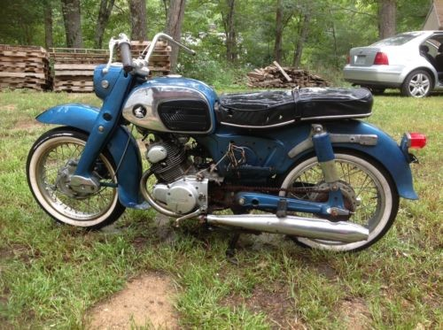 1965 Honda Honda Blue photo