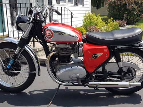 1965 Other Makes Bsa Red for sale