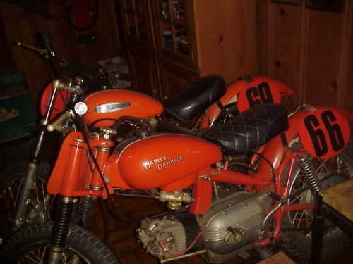 1966 Harley-Davidson CRS Italian Race Red for sale