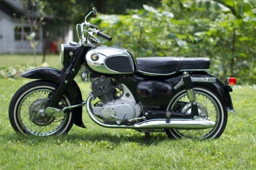 1966 Honda CA Black photo