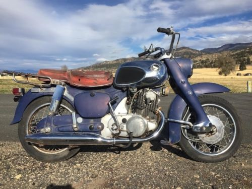 1966 Honda CA Blue photo
