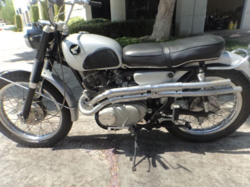 1966 Honda CL Silver for sale
