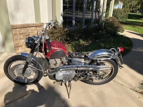 1966 Honda CL77 305 Scrambler Orange for sale