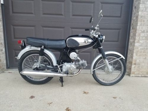1966 Honda S90 BLACK / SILVER photo