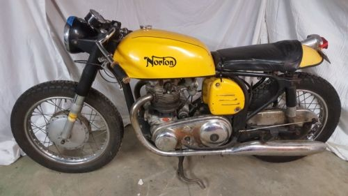 1966 Norton Atlas Yellow photo