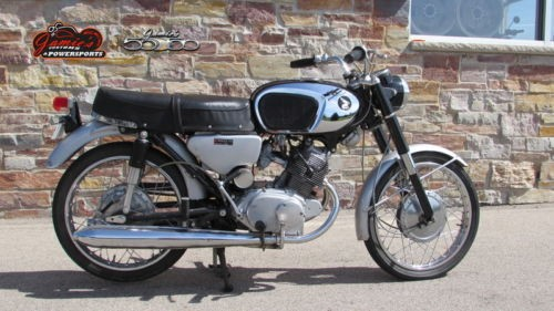 1967 Honda CB160 ALL ORIGINAL Black for sale craigslist