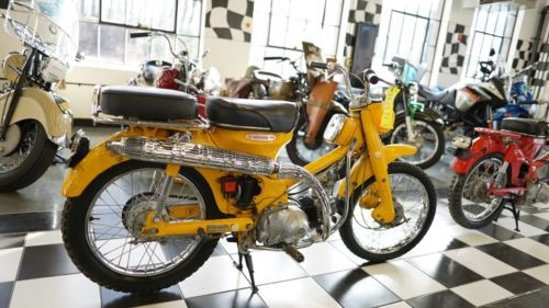 1967 Honda CT HRC Yellow photo