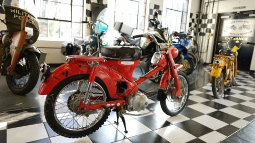 1967 Honda CT SHINY RED ORANGE for sale craigslist
