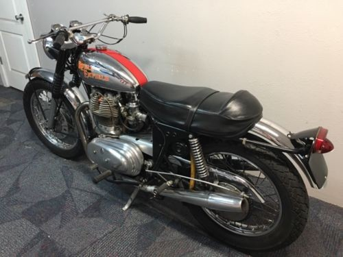 1967 Royal Enfield Interceptor MK1A Chrome and red for sale