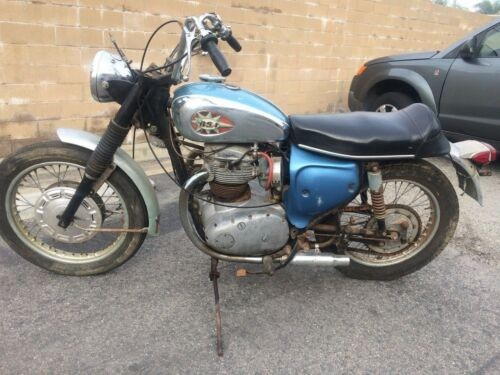 1968 BSA Lightening light blue photo
