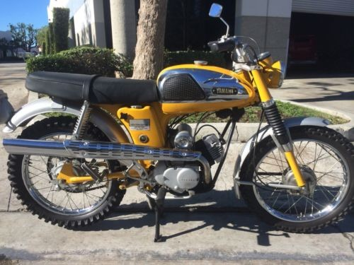 1968 BSA Trailmaster Yellow photo