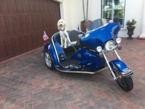 1968 Harley-Davidson Custom New Build Blue for sale craigslist