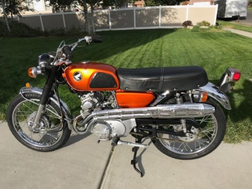 1968 Honda CB Orange craigslist