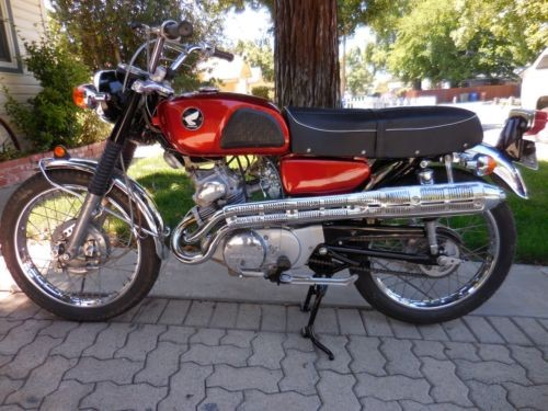1968 Honda CL Orange craigslist