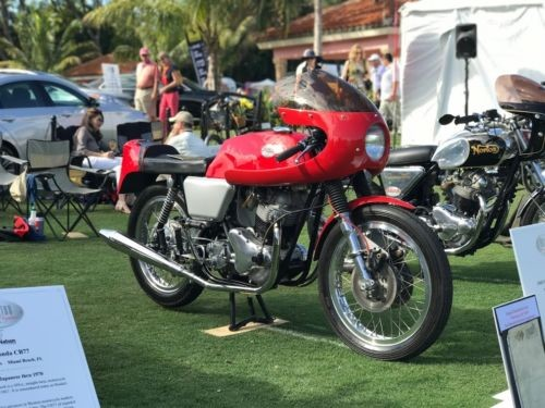 1968 Norton Commando Dunstall red craigslist