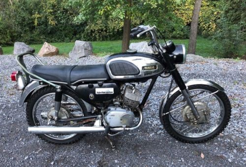 1968 Yamaha CS1 180CC Black photo