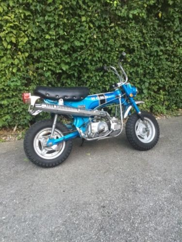 1969 Honda CT NO Reserve!!! trail 70 ct70 honda mini trail Blue photo