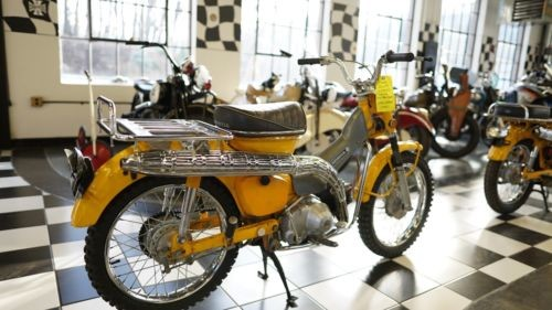 1969 Honda CT HRC Yellow photo
