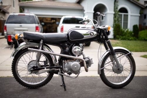 1969 Honda S90 Black photo