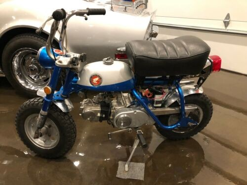 1969 Honda Z50 Blue photo